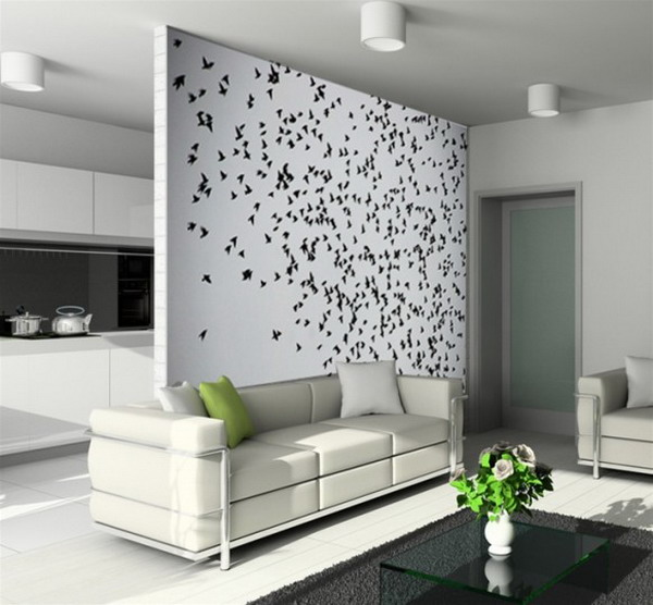 Black and White Wallpaper Murals for Home Design   Best Wall Murals