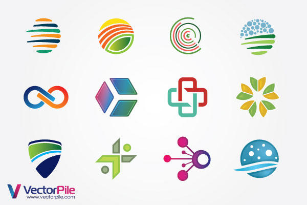 Mixed Logo Design Elements | Download Free Vector Graphics, Vector Art ...