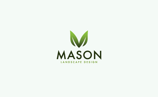 Mason Landscape Design - Logo Graphic Design
