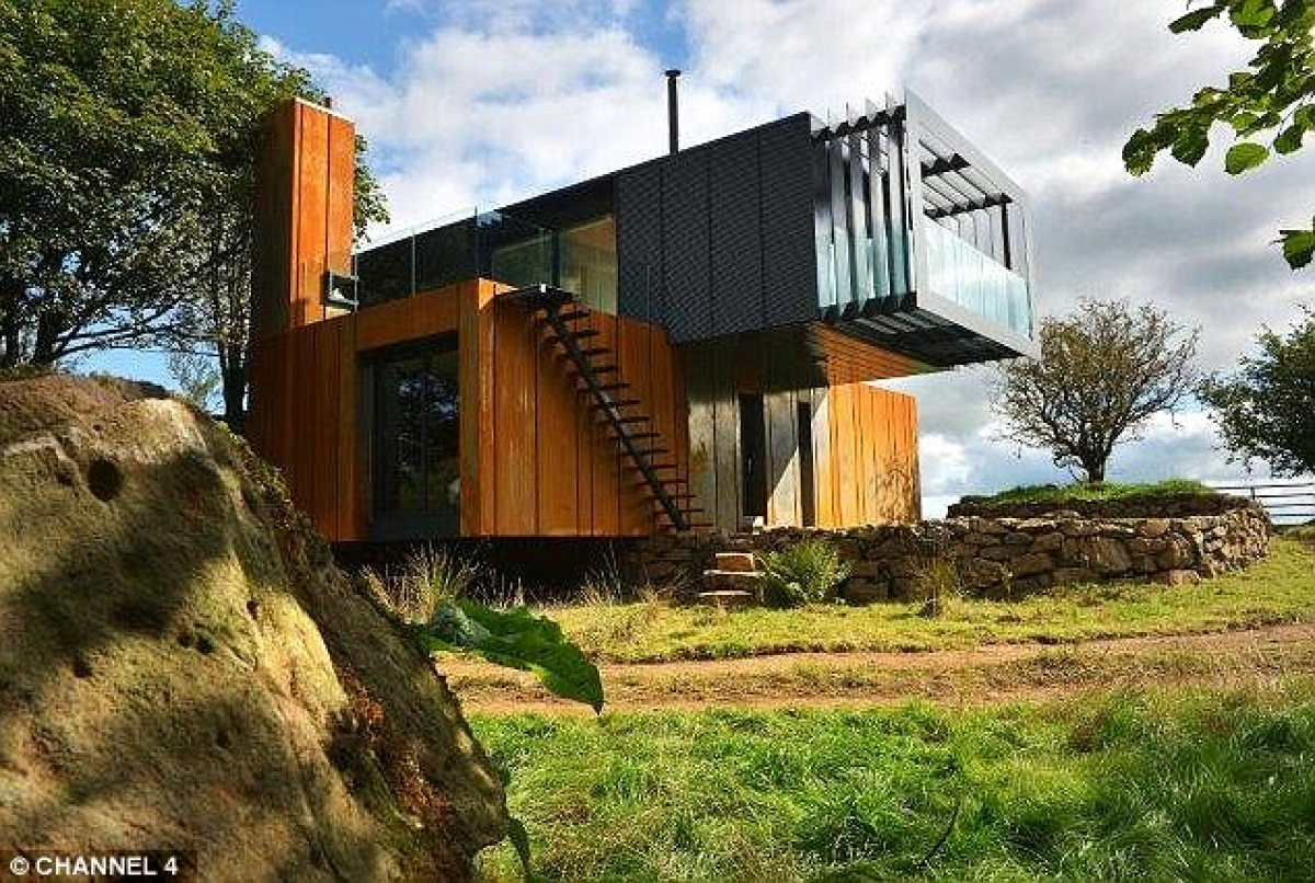 The Grand Designs Shipping container house