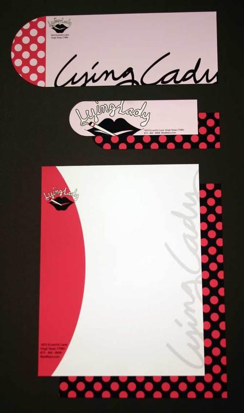 Graphic Design One::True Stories Logo/Letterhead::Mallory Violette