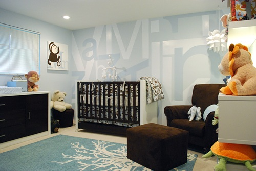 Another Celebrity Nursery. Do you see what I see? Not only is there a ...