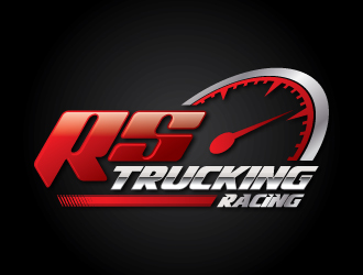 Racing Team Logo Design Rs trucking racing or team rs