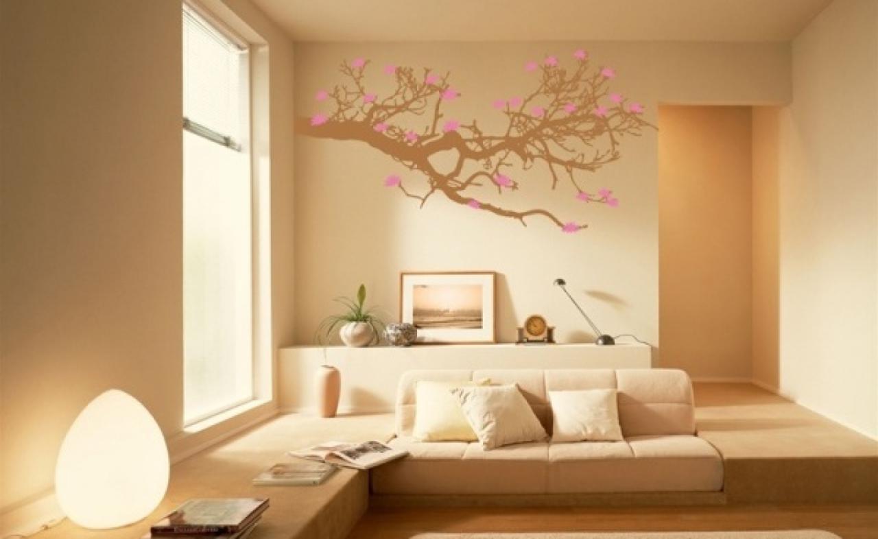 Wallpaper interior designs wall painting design ideas fun interior