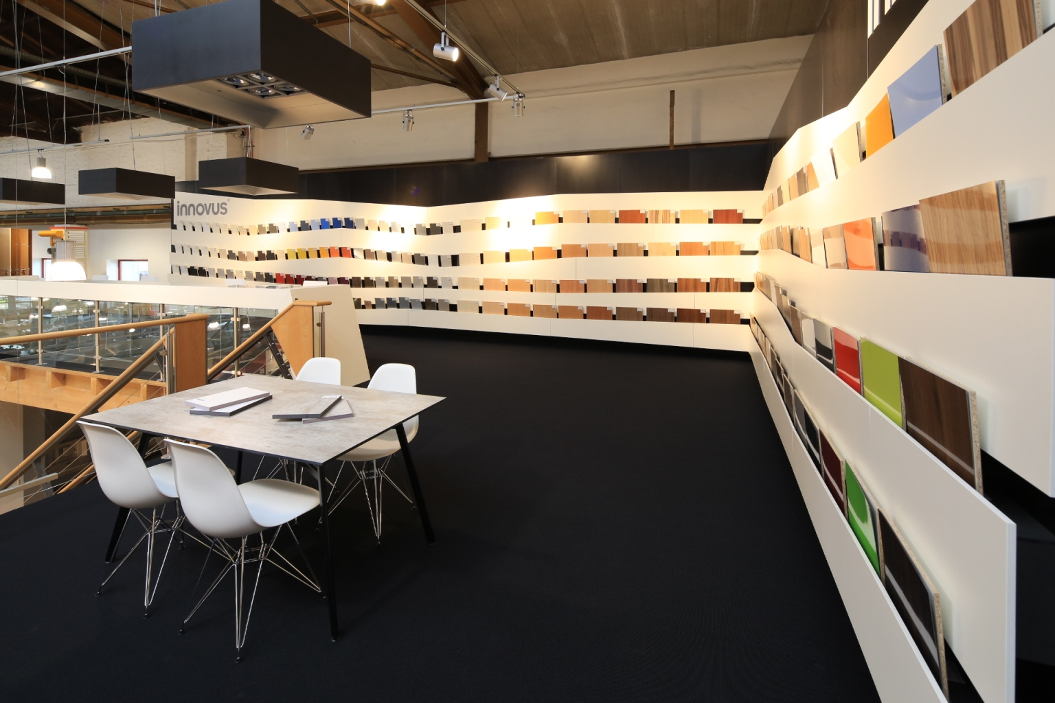 ... ® Showroom will be another eye-catcher regarding shape and colour