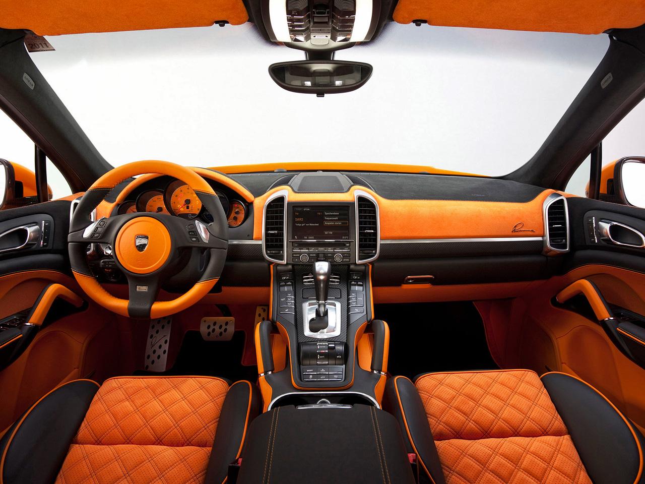 2012 Lumma Design Porsche Cayenne S Hybrid - interior design