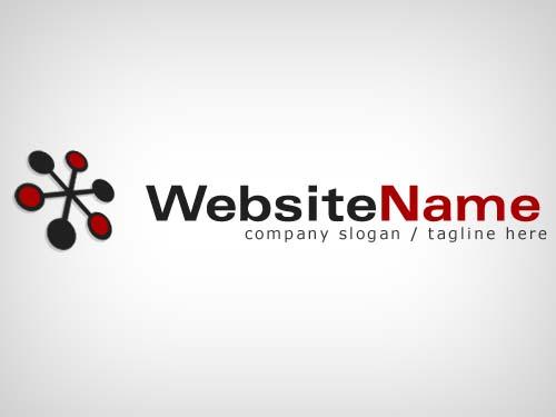 Free Website Logo 2 psd file   PSDHOME