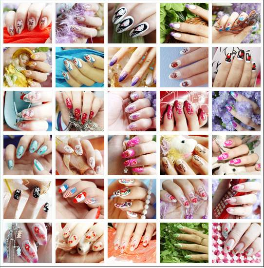 platform users nails nail polish nail design Nail Art Ideas nail ...