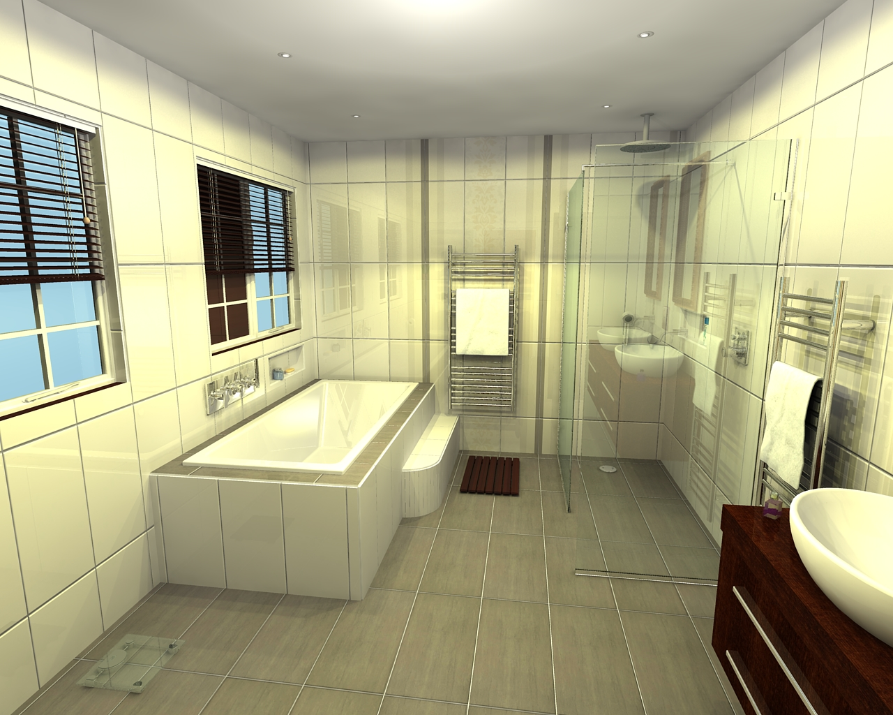 Balinea Bathroom Design Blog: Wet Rooms and Walk-In Showers