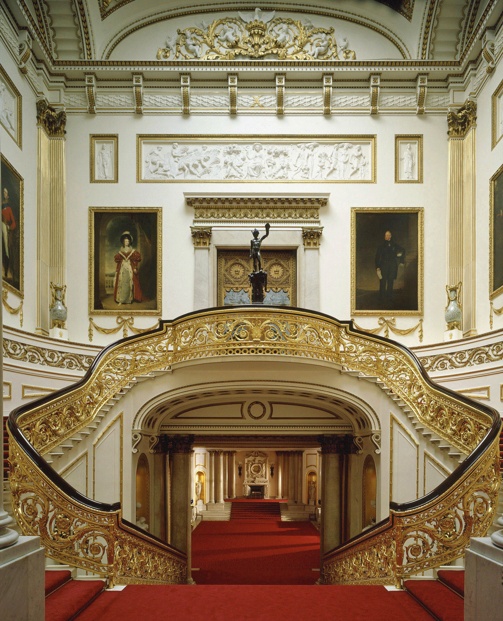 The Grand Staircase ©The Royal Collection 2009, Her Majesty Queen ...