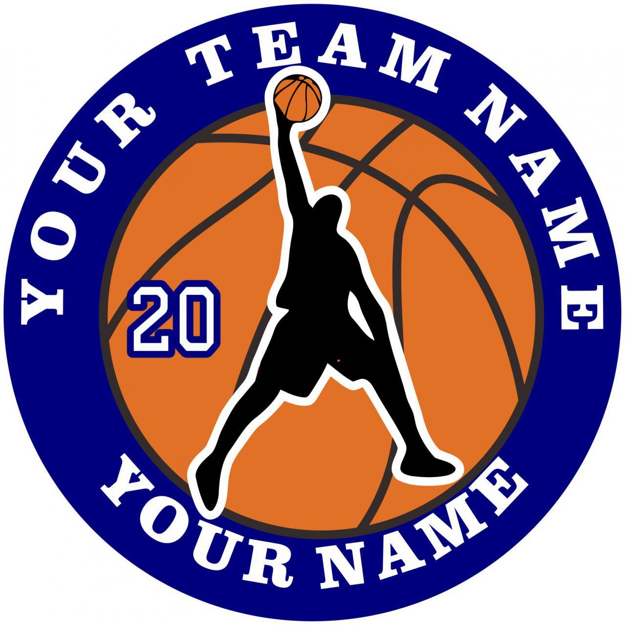 ... basketball logo the customized basketball logo is designed exactly as