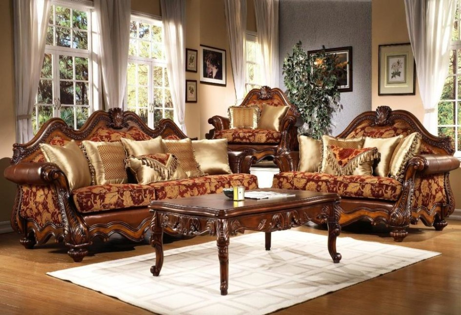 Design Traditional Living Room Furniture : OLPOS Design
