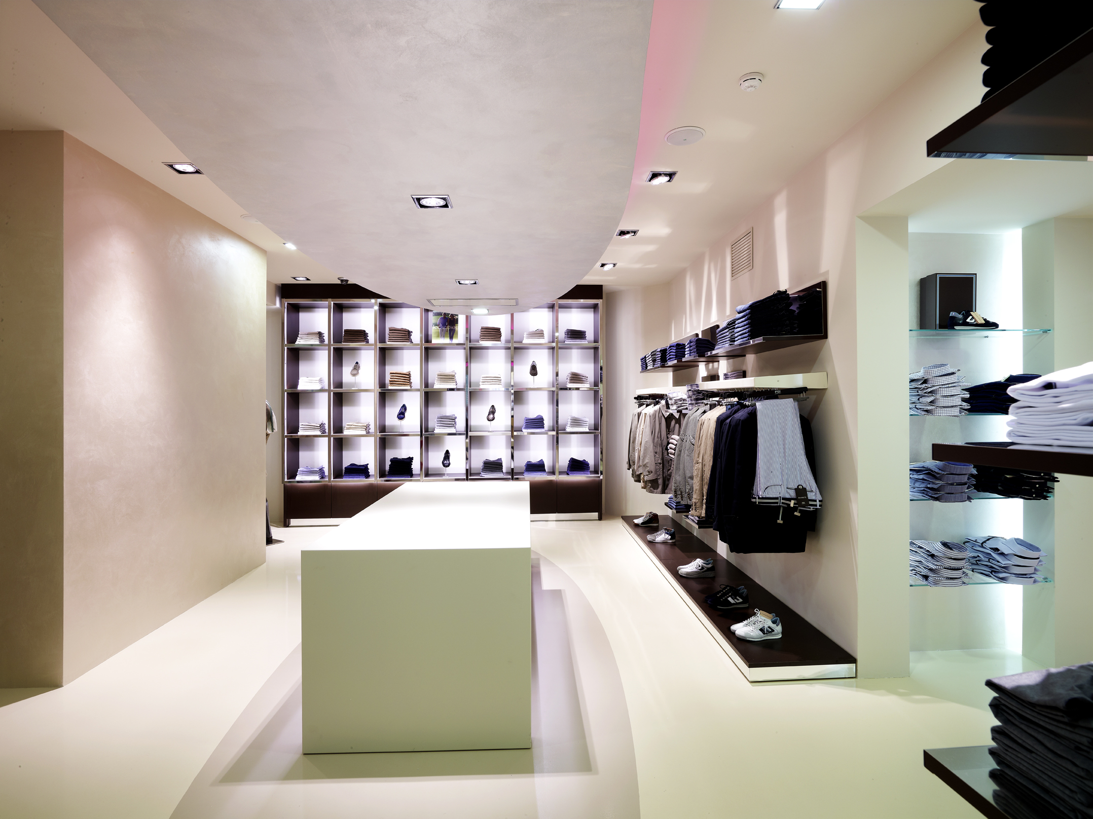 Clothing Store Interior Design Ideas | Joy Studio Design Gallery Photo
