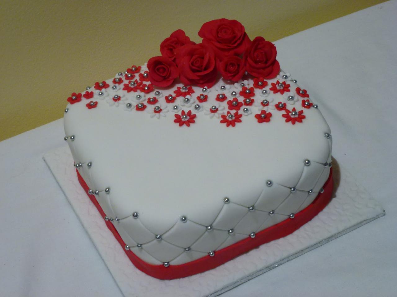 25 Wedding Anniversary Cake Designs