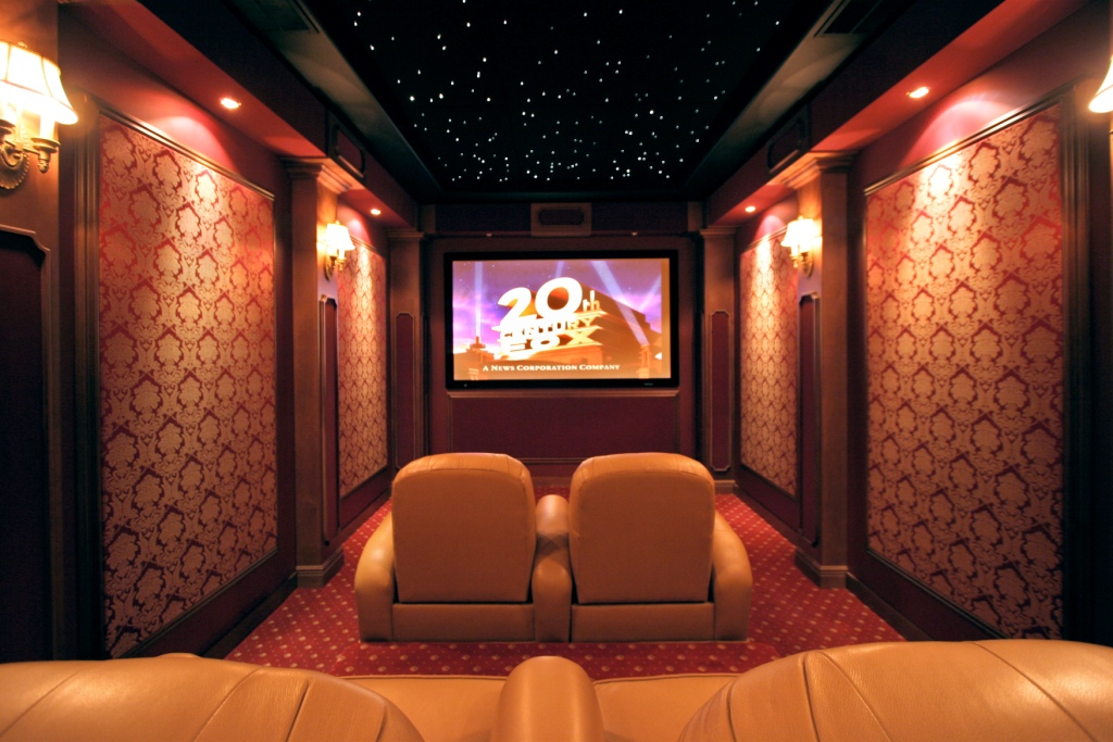 The Basic Types of Home Theater Design | HomeDressing