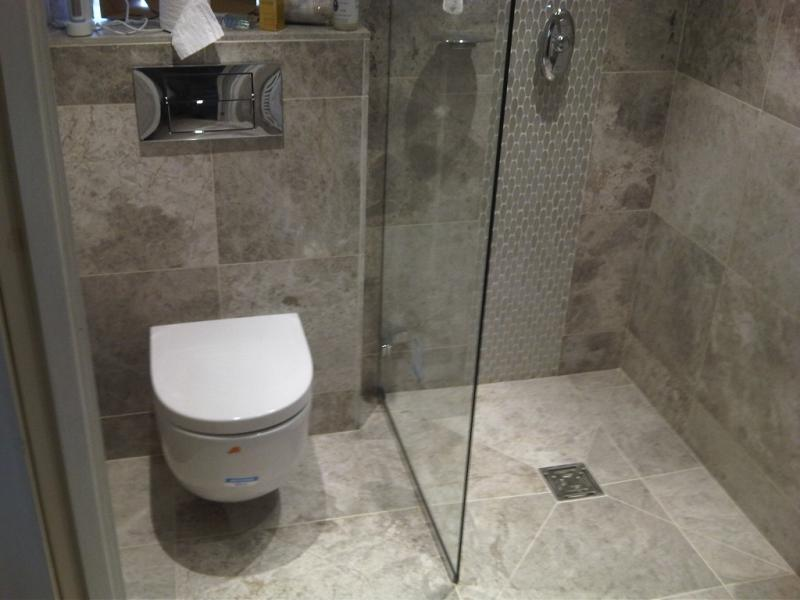 Walk in wetroom design with WC by Keller Design Centre in Lytham St ...