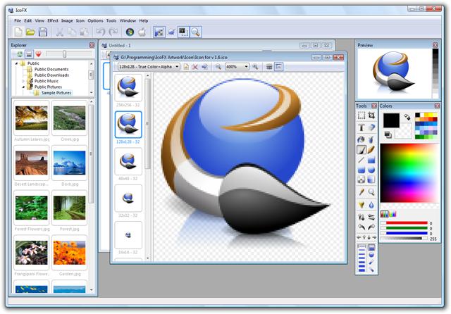 Selección de editores de iconos gratuitos para Windows ...