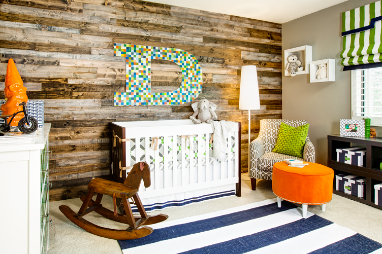 Eclectic Wood-Paneled Nursery - Project Nursery