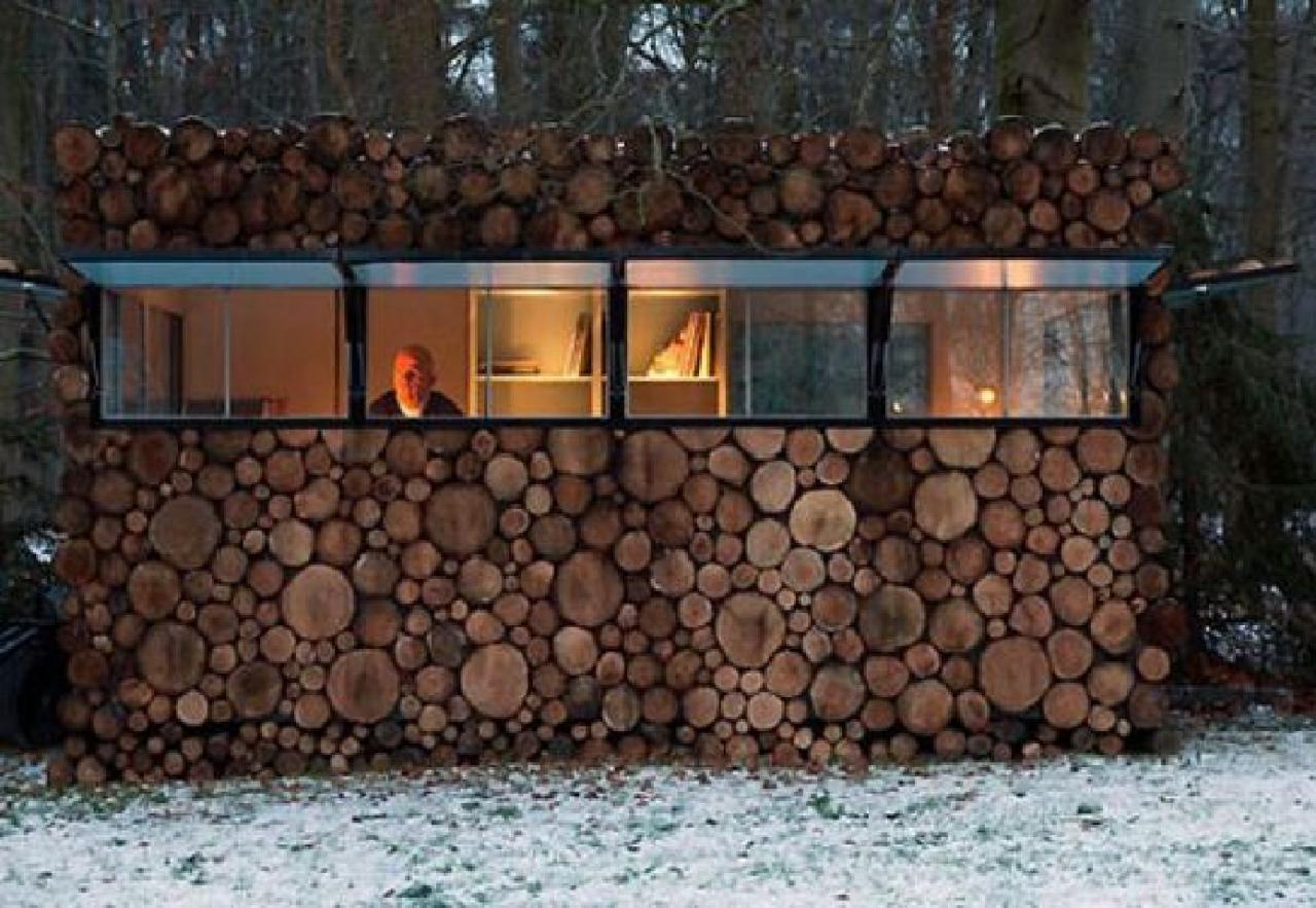 Log house design ideas for music studio homeconceptdecoration com log ...
