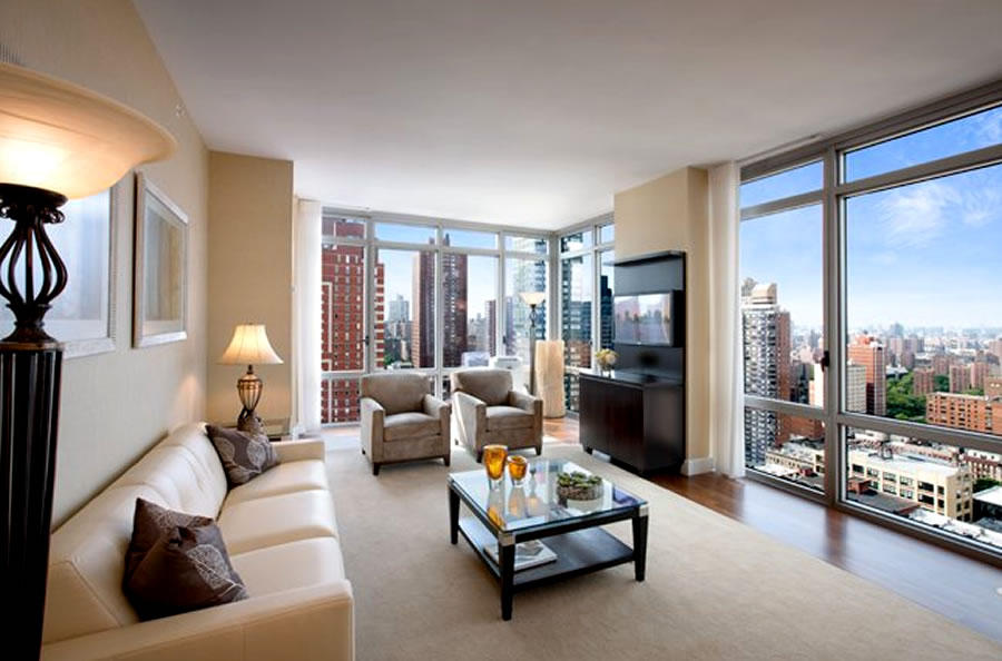 Luxury Residential Interior Design of Azure in Uptown Manhattan, New ...