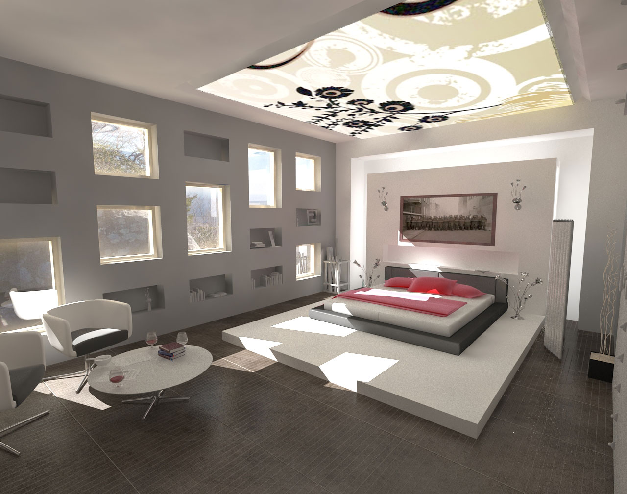 Decorations: Minimalist Design - Modern Bedroom Interior Design Ideas