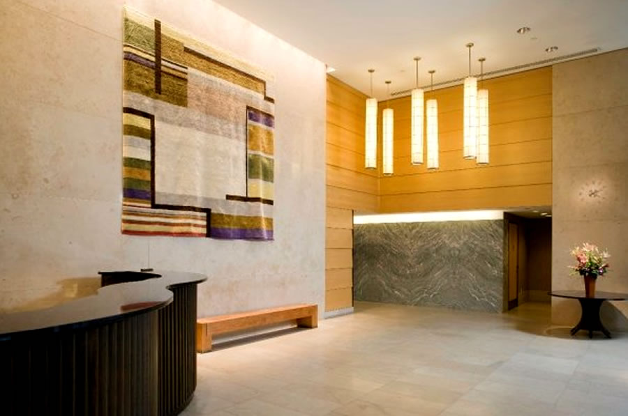 Modern Residential Apartment Lobby Interior Design The Metropolis ...
