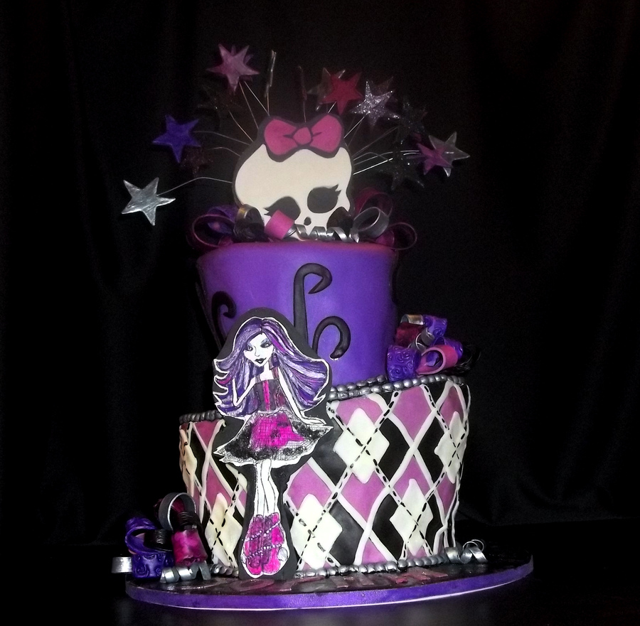 25 Monster High Cake Ideas and Designs - EchoMon