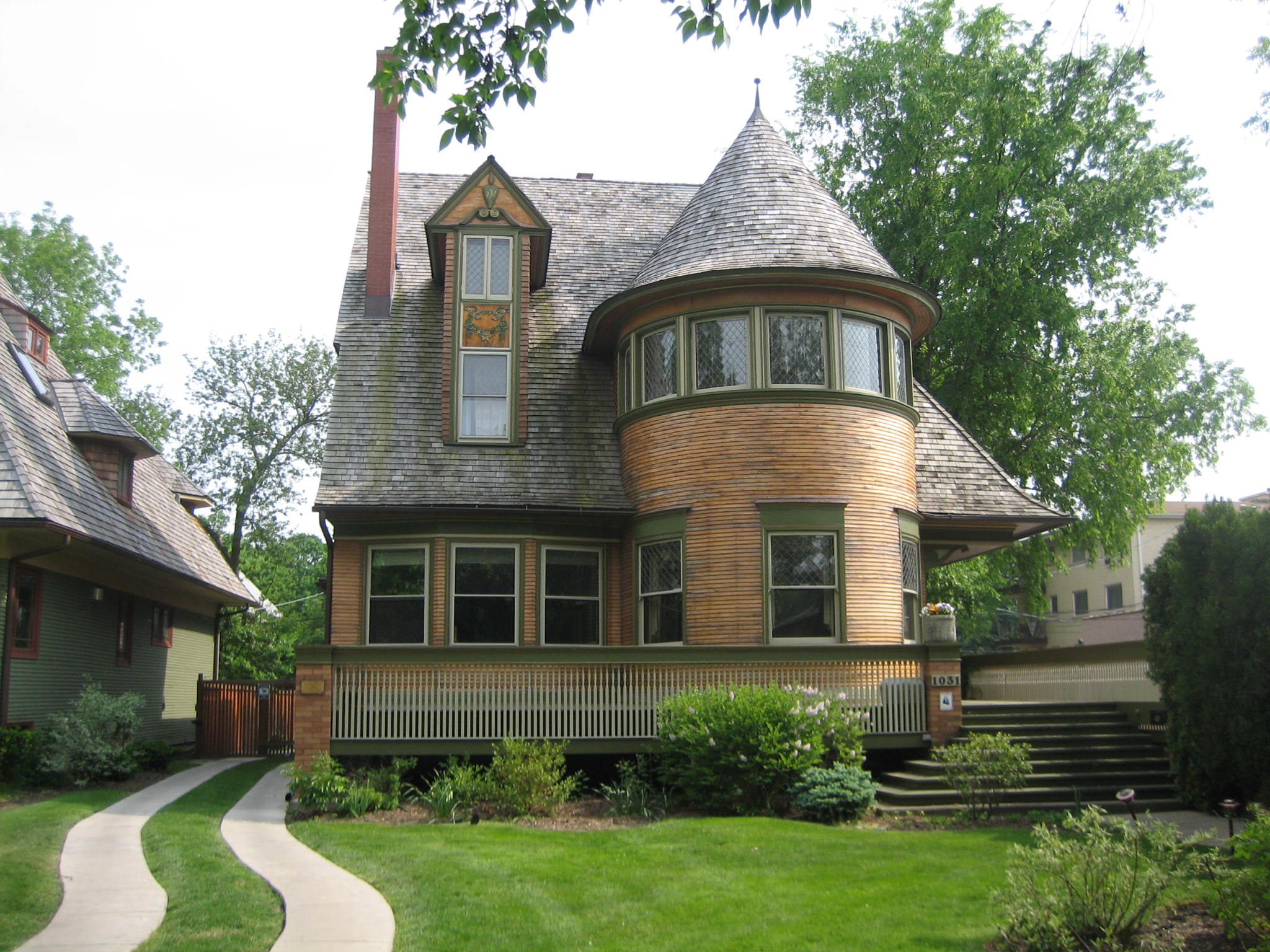Description Oak Park Il Walter Gale House4.jpg