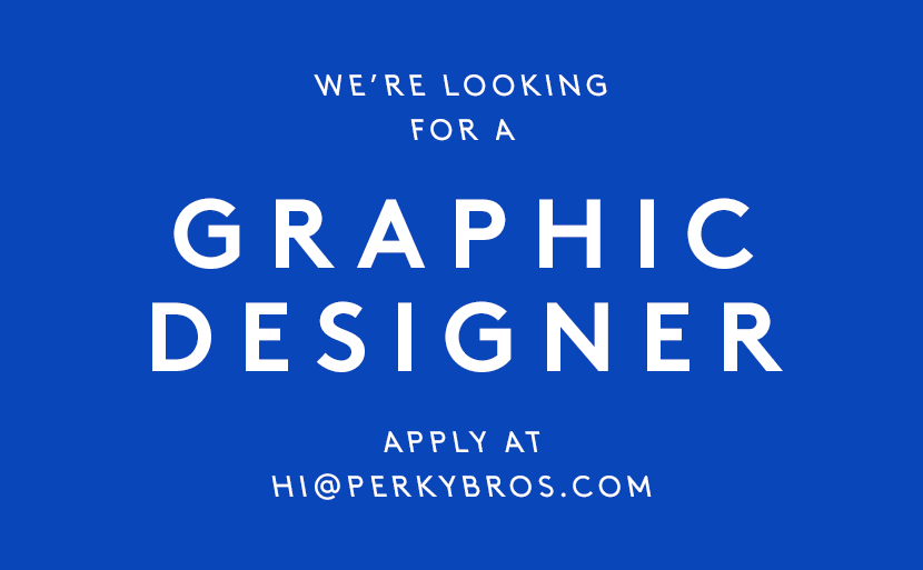 Perky Bros llc - Hiring: Graphic Designer -