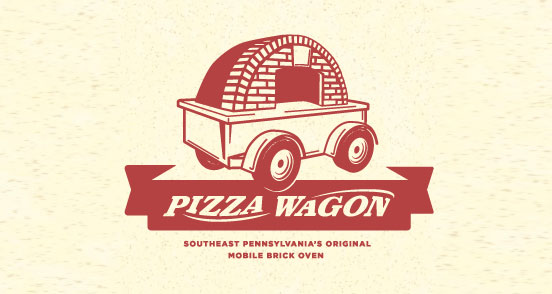 Pizza Wagon | Logo Design | The Design Inspiration