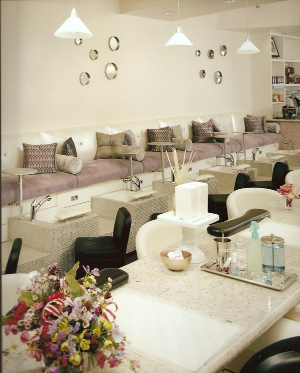 Interior Design for a Nail Salon | Room Decorating Ideas