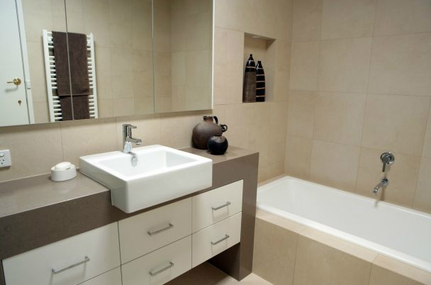 Small bathroom designs by Pinnacle Bathroom Renovations 4