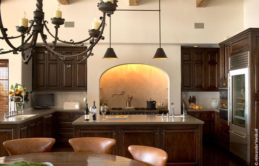Spanish colonial home interior designs dining room