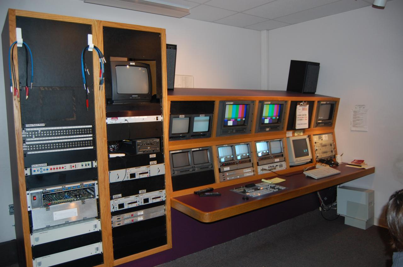 Description TV Station Control Room.JPG