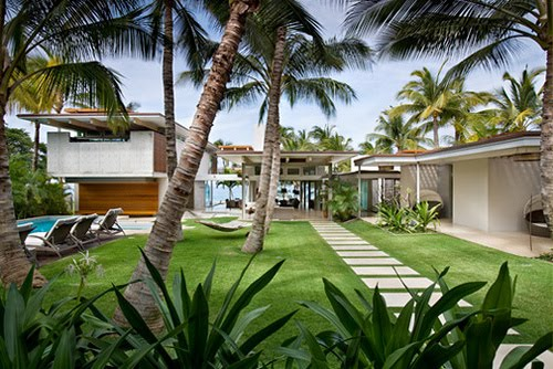 is a modern tropical design appropriate for those who live in tropical ...