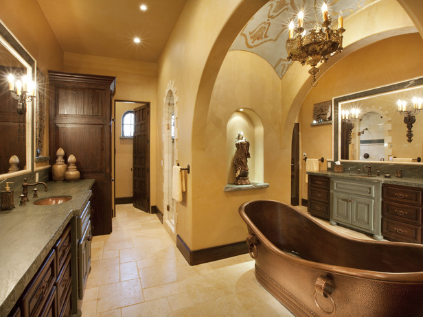 Tuscan Bathrooms Designs » Model Gaya Rambut