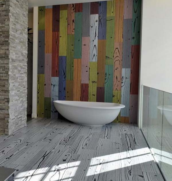 bathroom floor designs