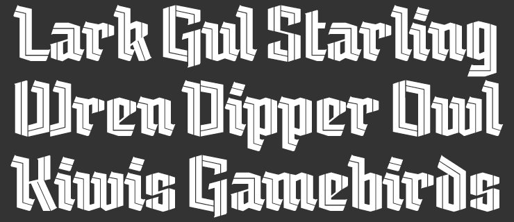 Free Fonts From TypeTogether