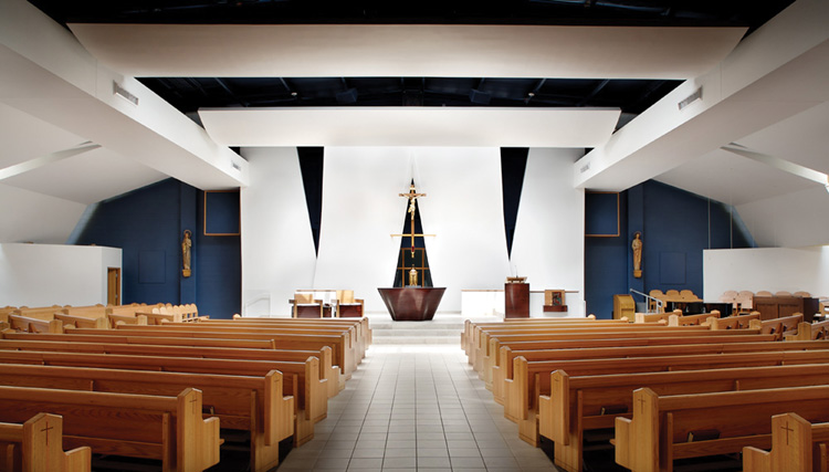 Churches Interior Designs