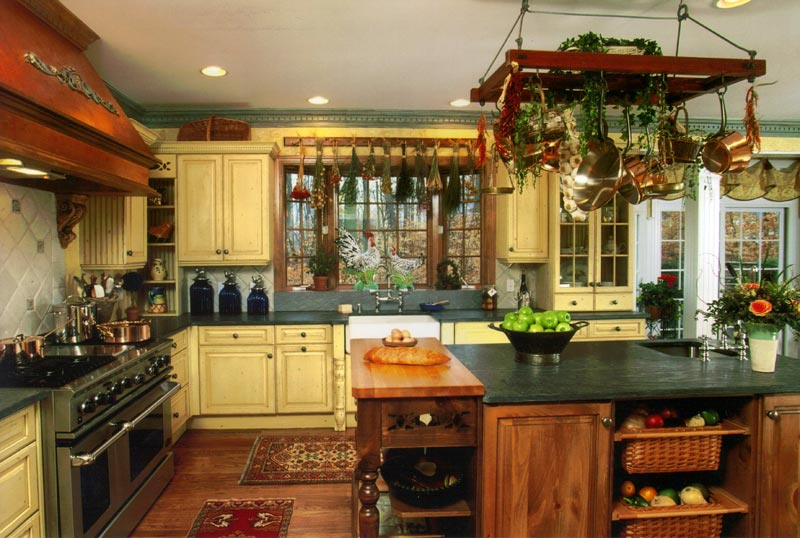Appealing Country Kitchen Ideas | Interior Design Ideas