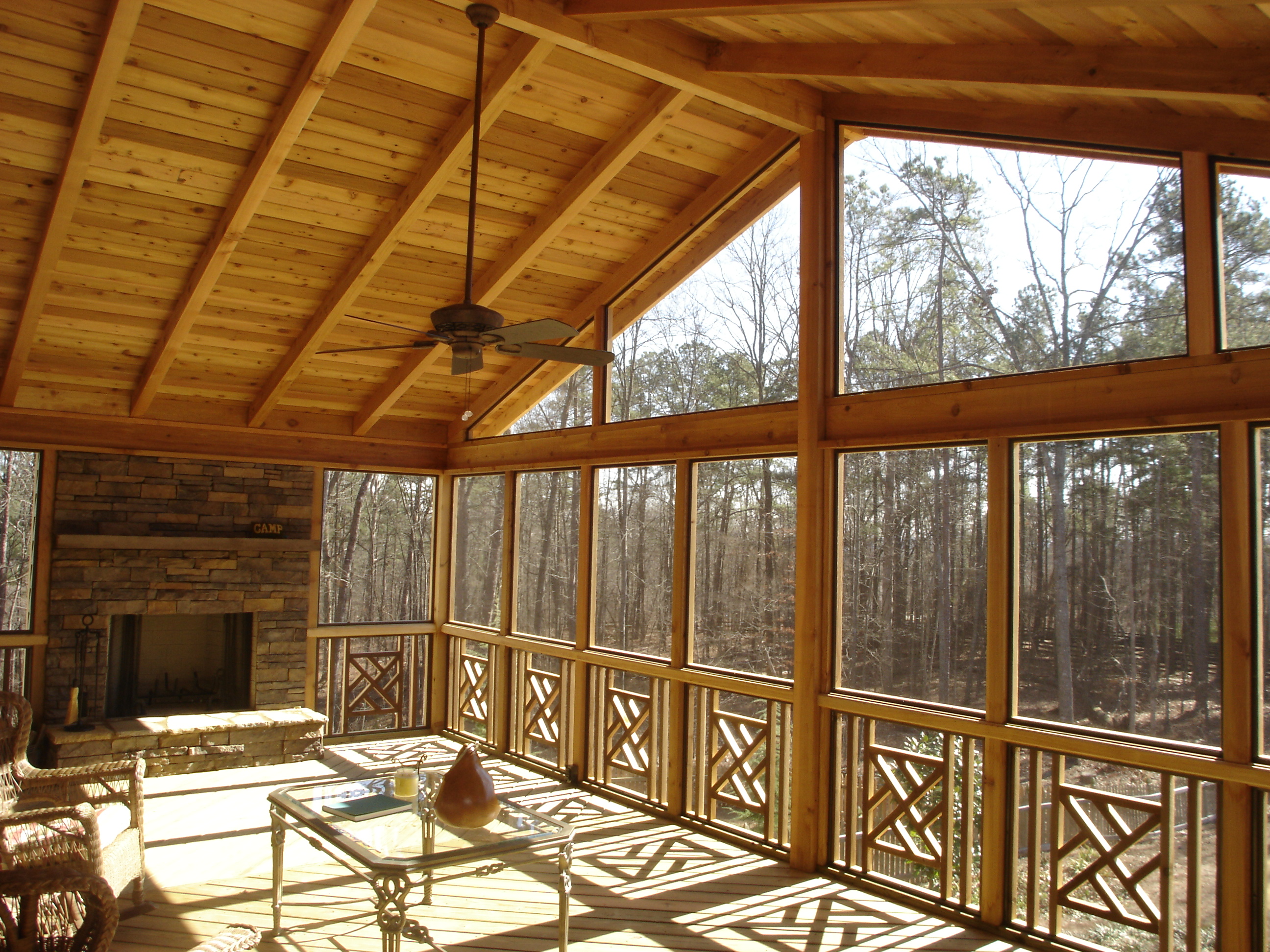 Top 10 Reasons for Building a Screen Porch | Columbus Decks, Porches ...