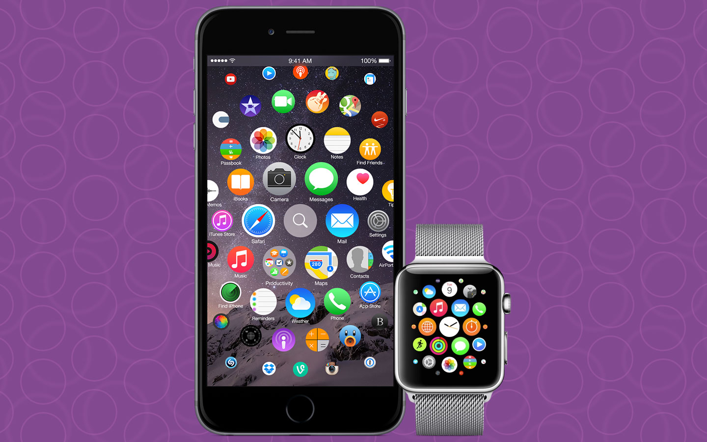 iOS 9 Redesign: iPhone 7 mit Apple Watch Interface?