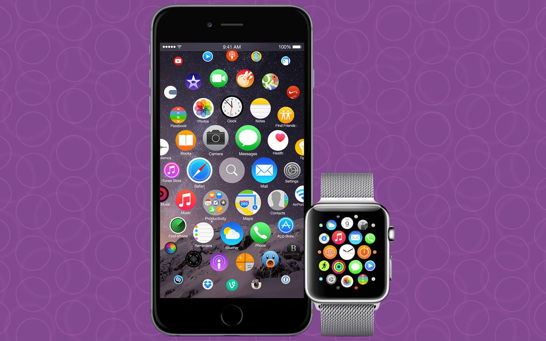 iOS 9 Redesign: iPhone 7 mit Apple Watch Interface?