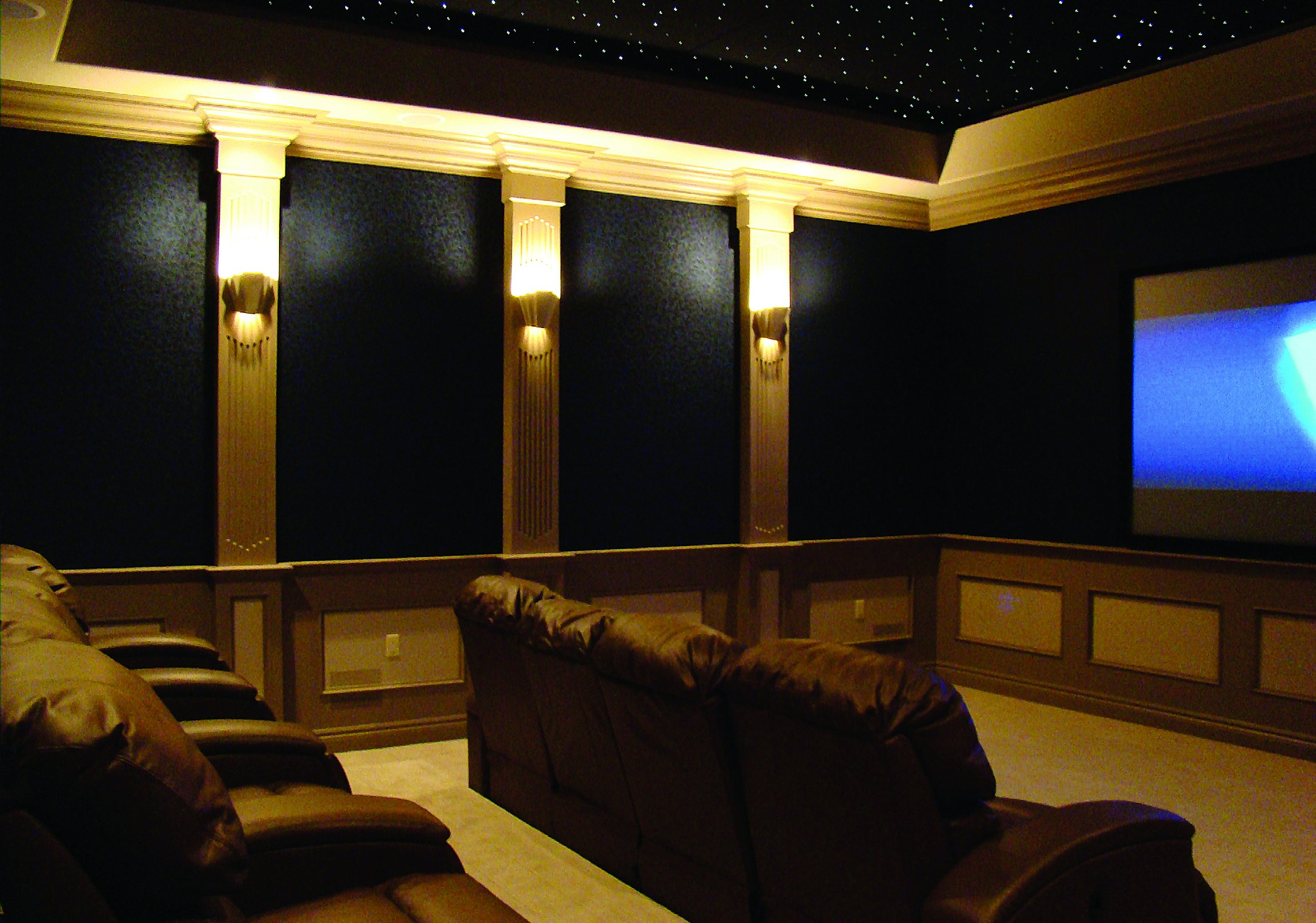 custom home theater design joy studio design gallery photo. Black Bedroom Furniture Sets. Home Design Ideas