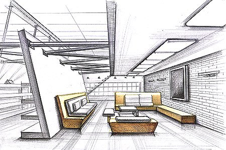 ... Daily Inspiration: Interior Design Drawing Technique « The Design 411
