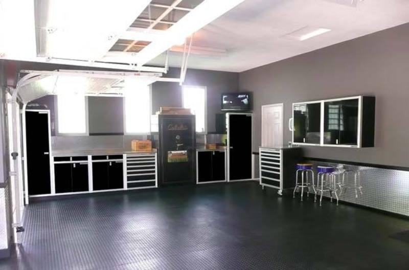 Interior Garage Designs, Elegant And Modern Garage Design Ideas