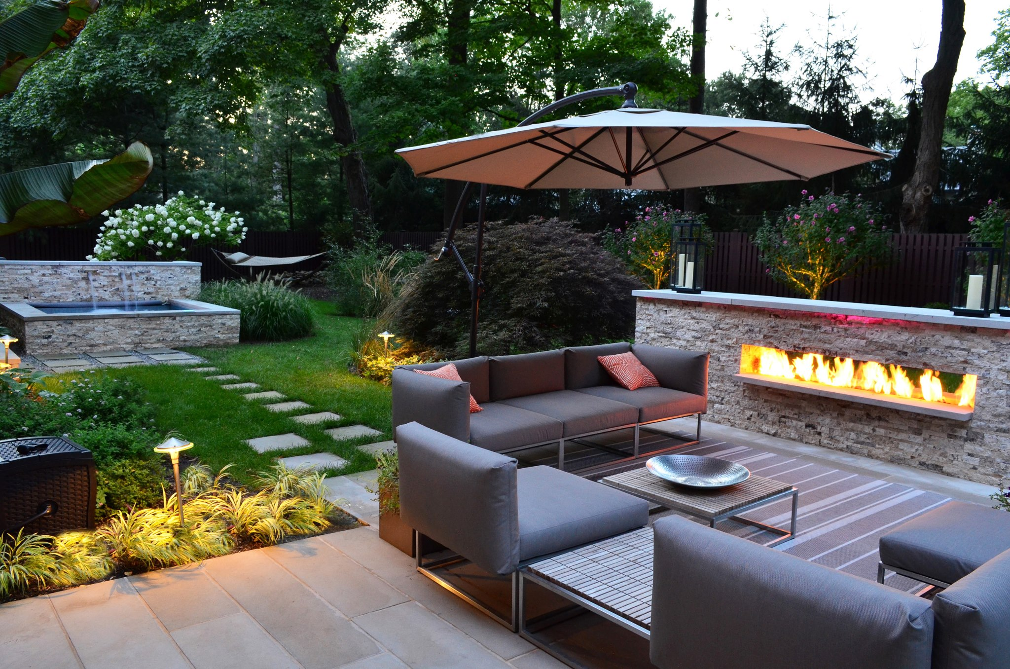 ... pool and spa services came together beautifully for this design