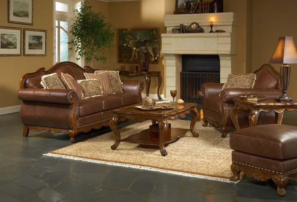 LEATHER LIVING ROOM FURNITURE « 3D | 3D News | 3ds max | Models | ART ...