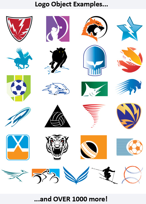 Sports Expansion Pack for Logo Design Studio Pro Vector | Broderbund ...