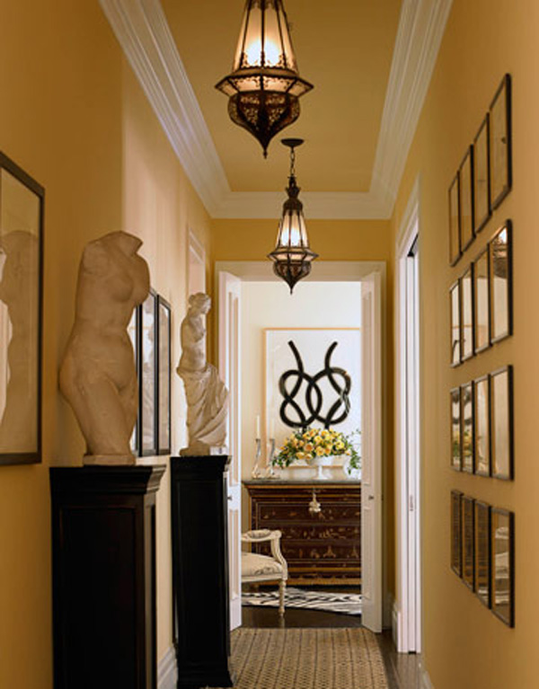 ... Hallway Decorating Ideas with These Things: Narrow Hallway Decorating